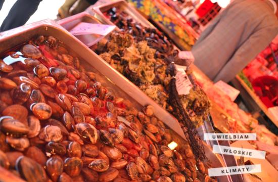 włoski lokalny targ - mercato