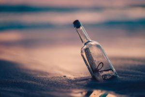 list w butelce uwielbiam włoskie klimaty
