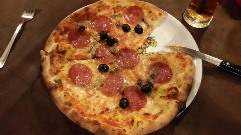 Siciliana pizza