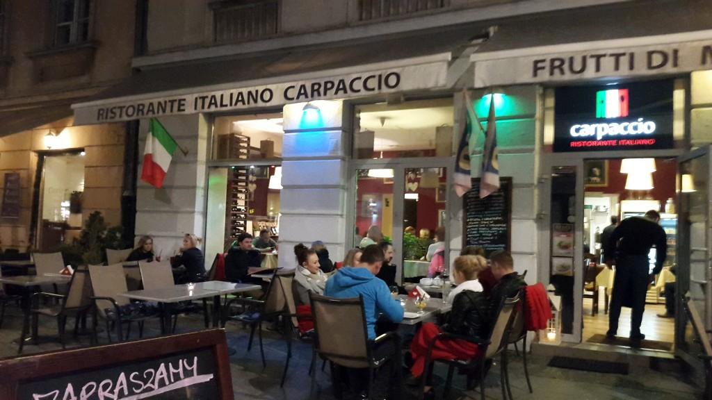 Carpaccio restauracja