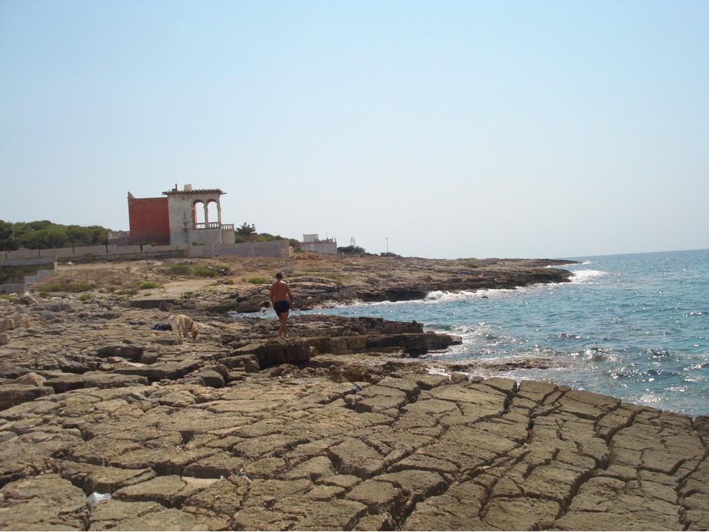 Apulia lokalna plaża