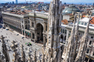 Piazza del Duomo Mediolan