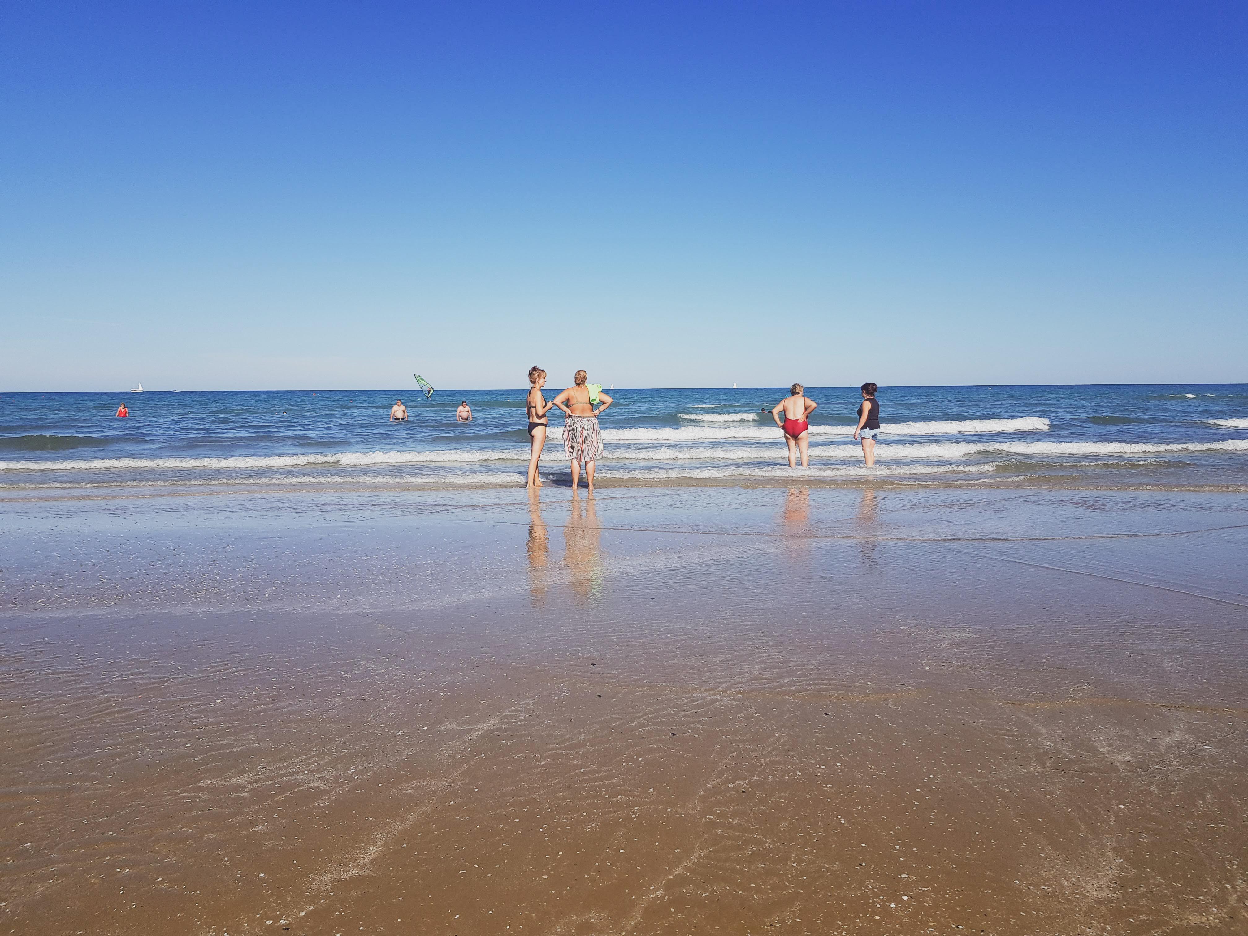 Rimini plaża