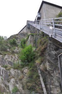 Forte di Bard Dolina Aosty
