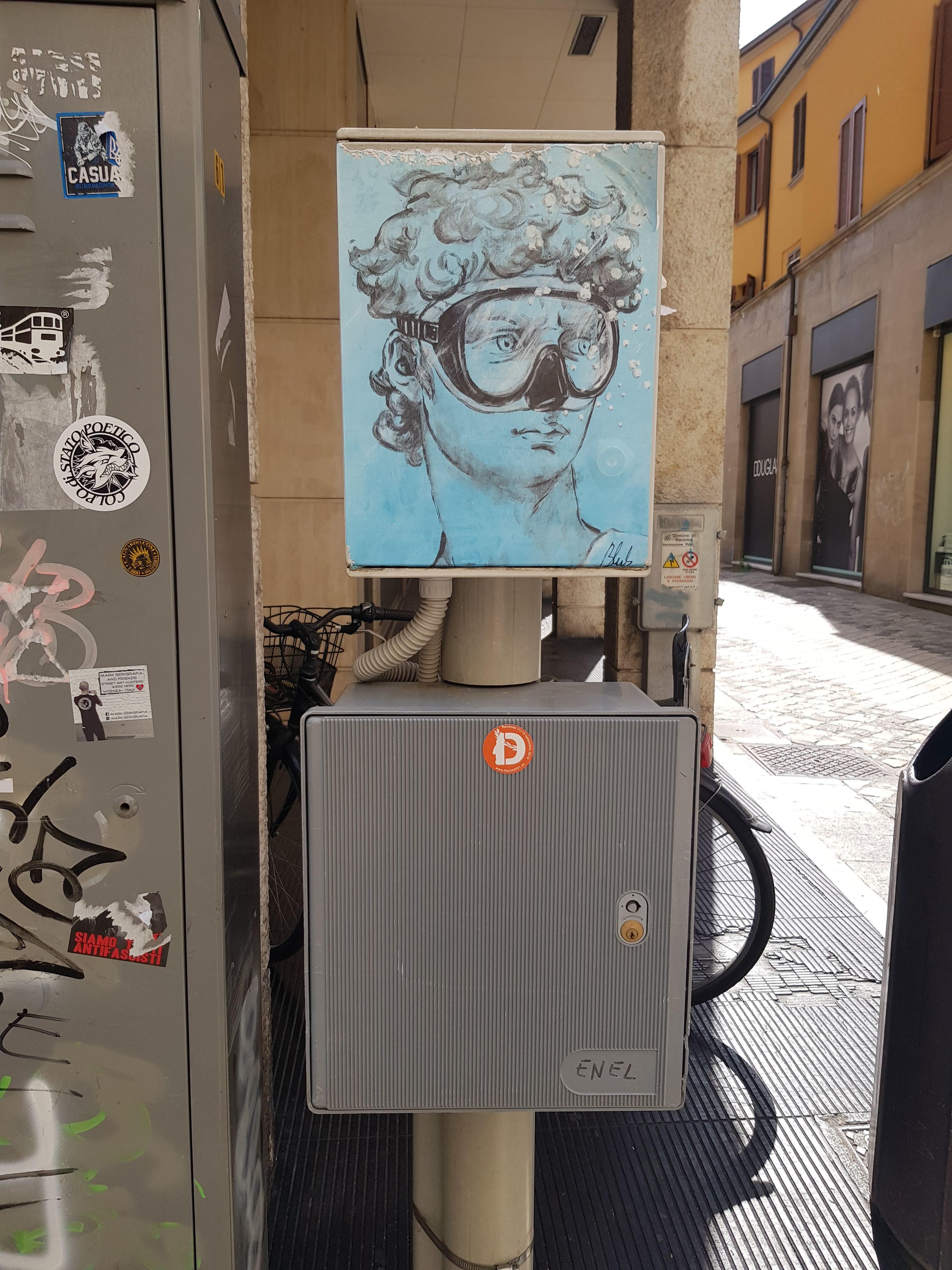 blub streetart