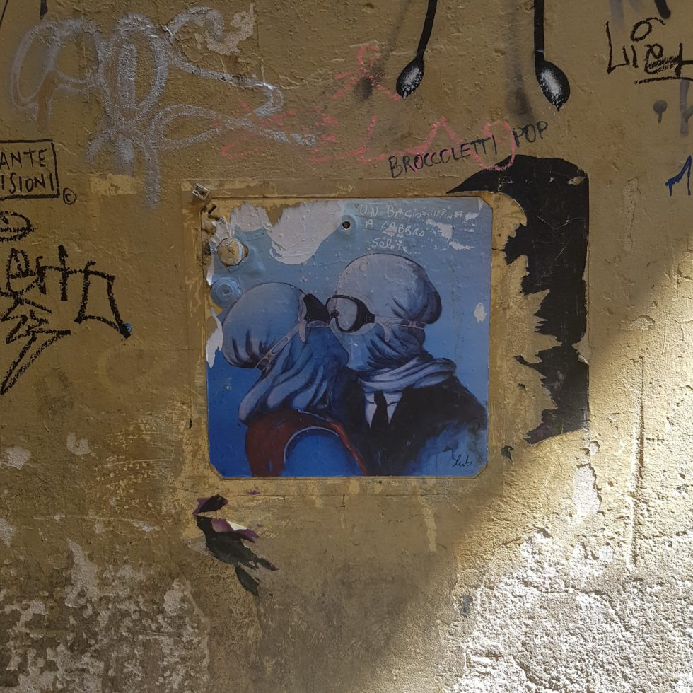 blub streetart pandemia