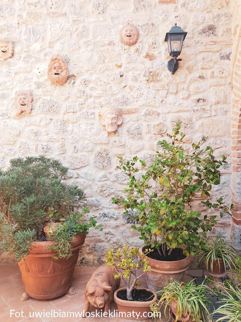 włoskie donice z terakoty