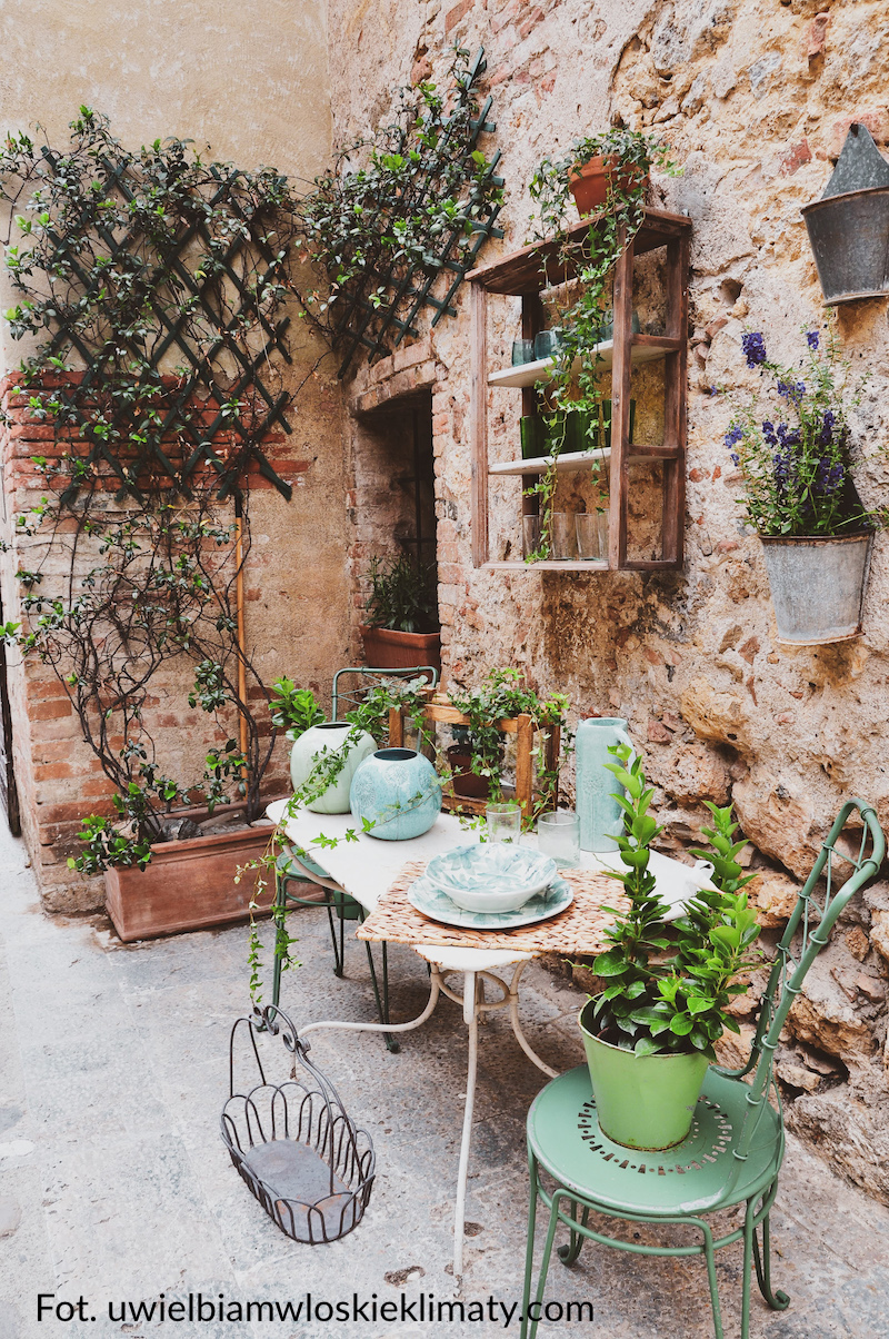 włoski ogród terakota