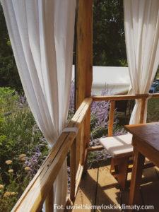 ogród włoski zasłona