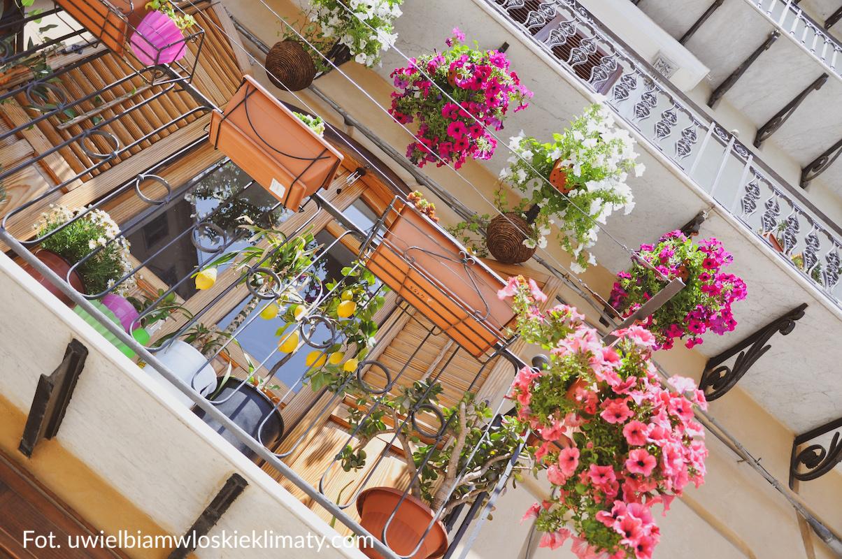 włoski balkon Sycylia