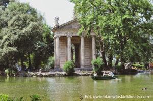Ogrody Villa Medici w Rzymie