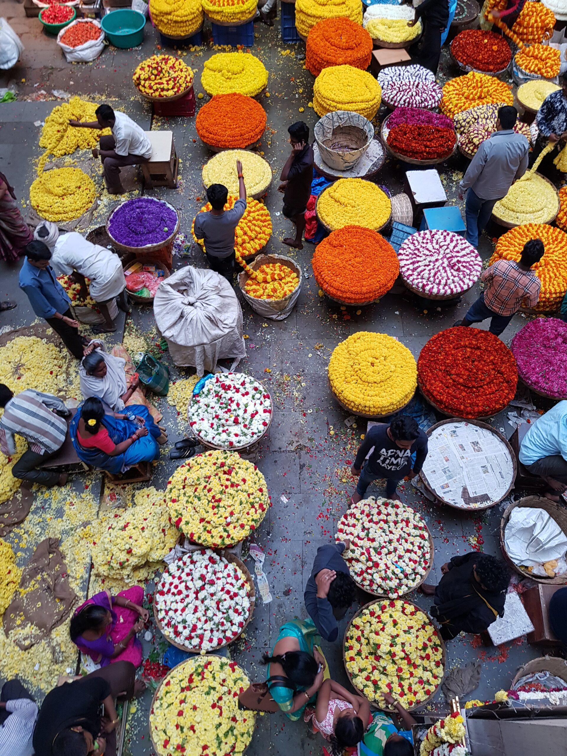 targ kwiatowy Bangalore