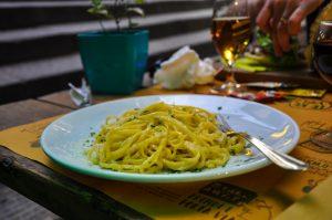 spaghetti all'limone