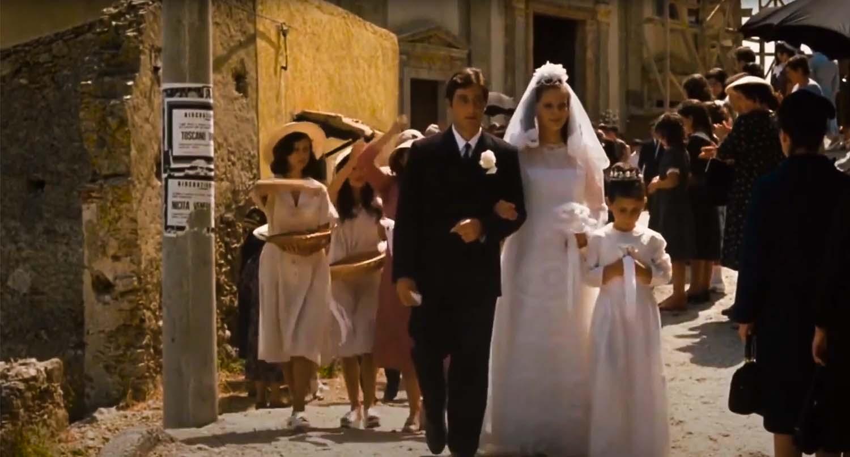 michael corleone scena z filmu
